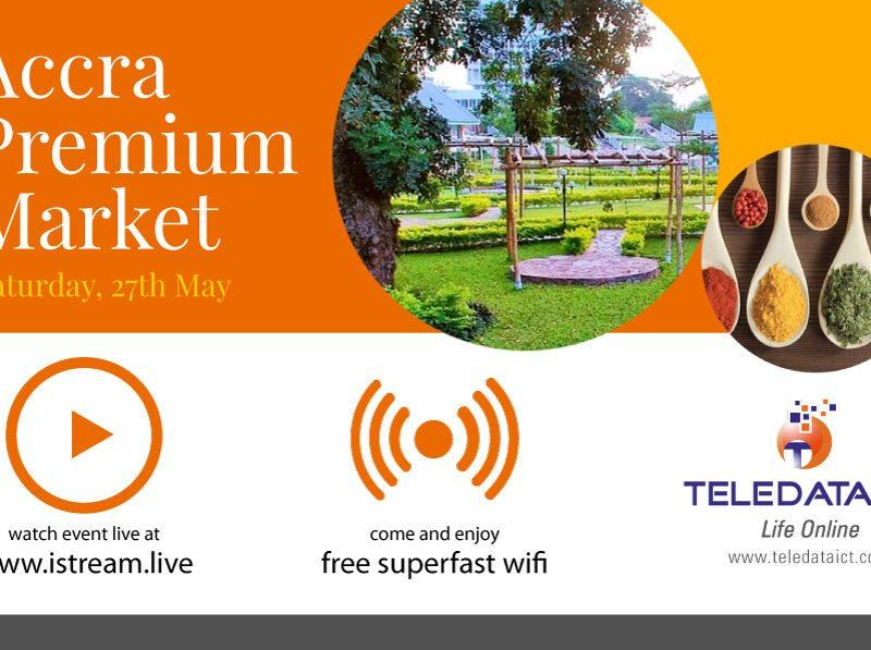 Teledata Sponsors Accra Premium Market