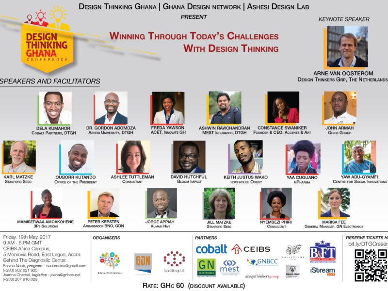 Design Thinking Ghana Conference Live on iStream
