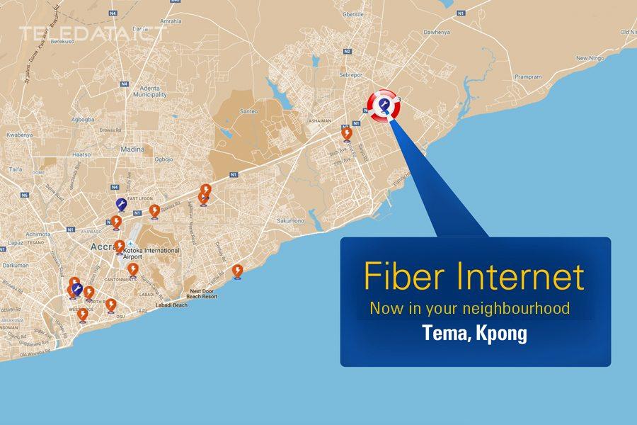 Fiber Internet now in Tema Kpong