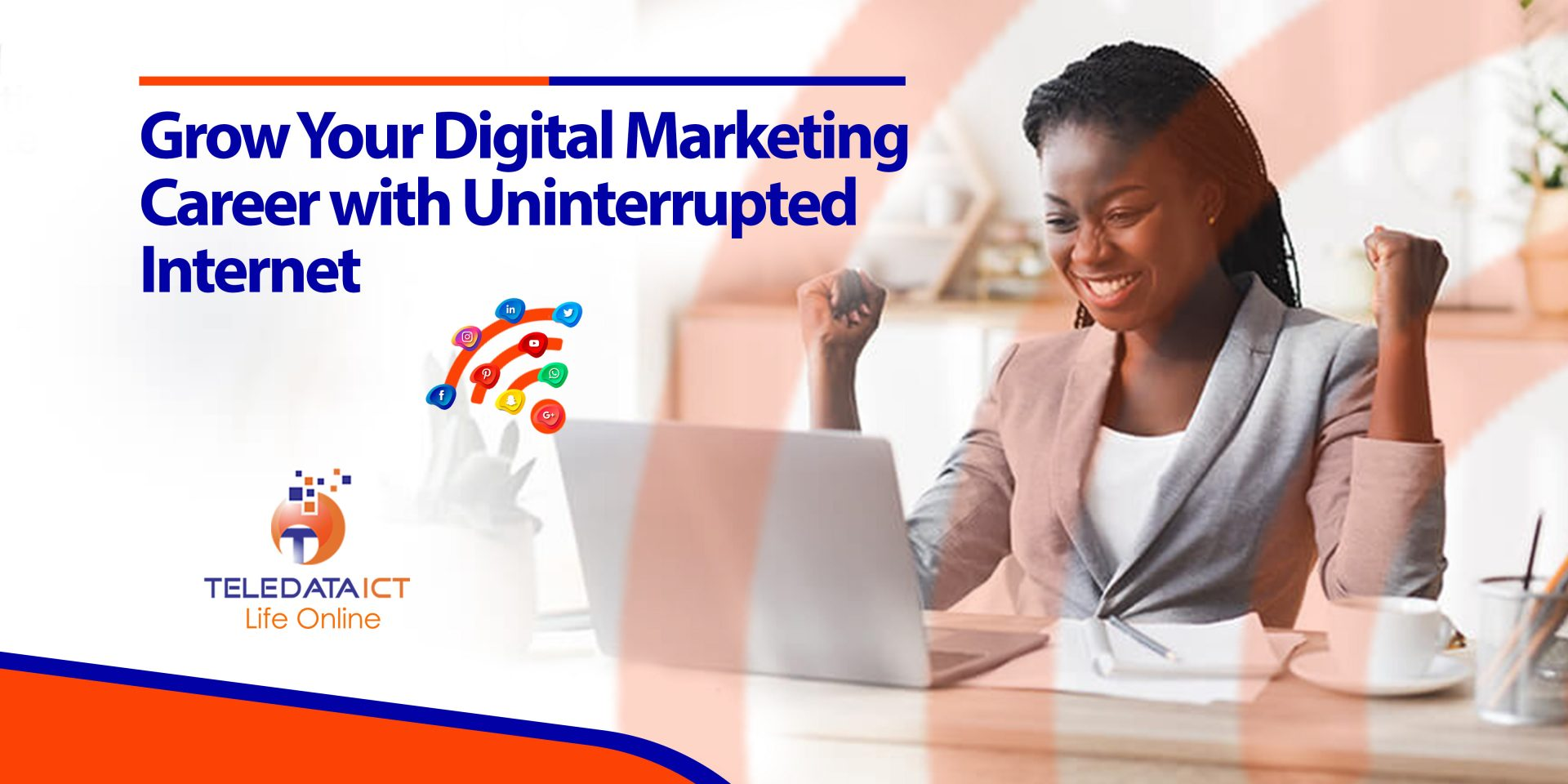 Benefit of unlimited internet for digital marketers