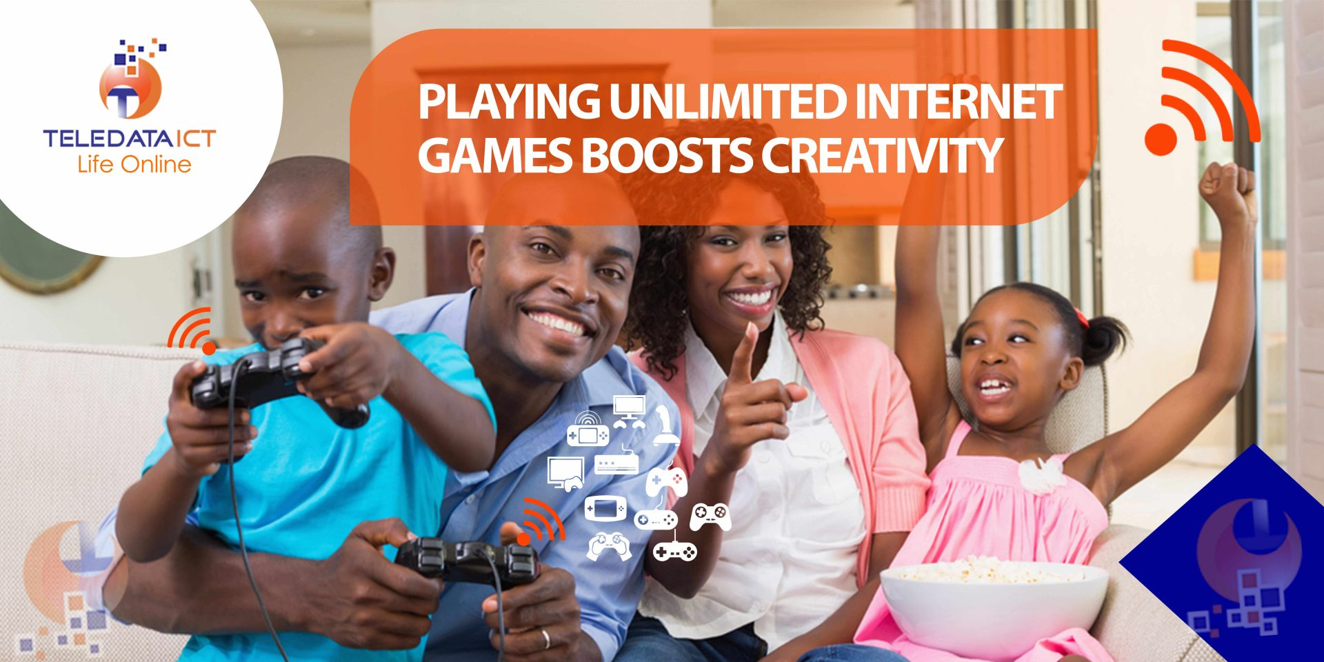 playing unlimited internet games boosts creativity