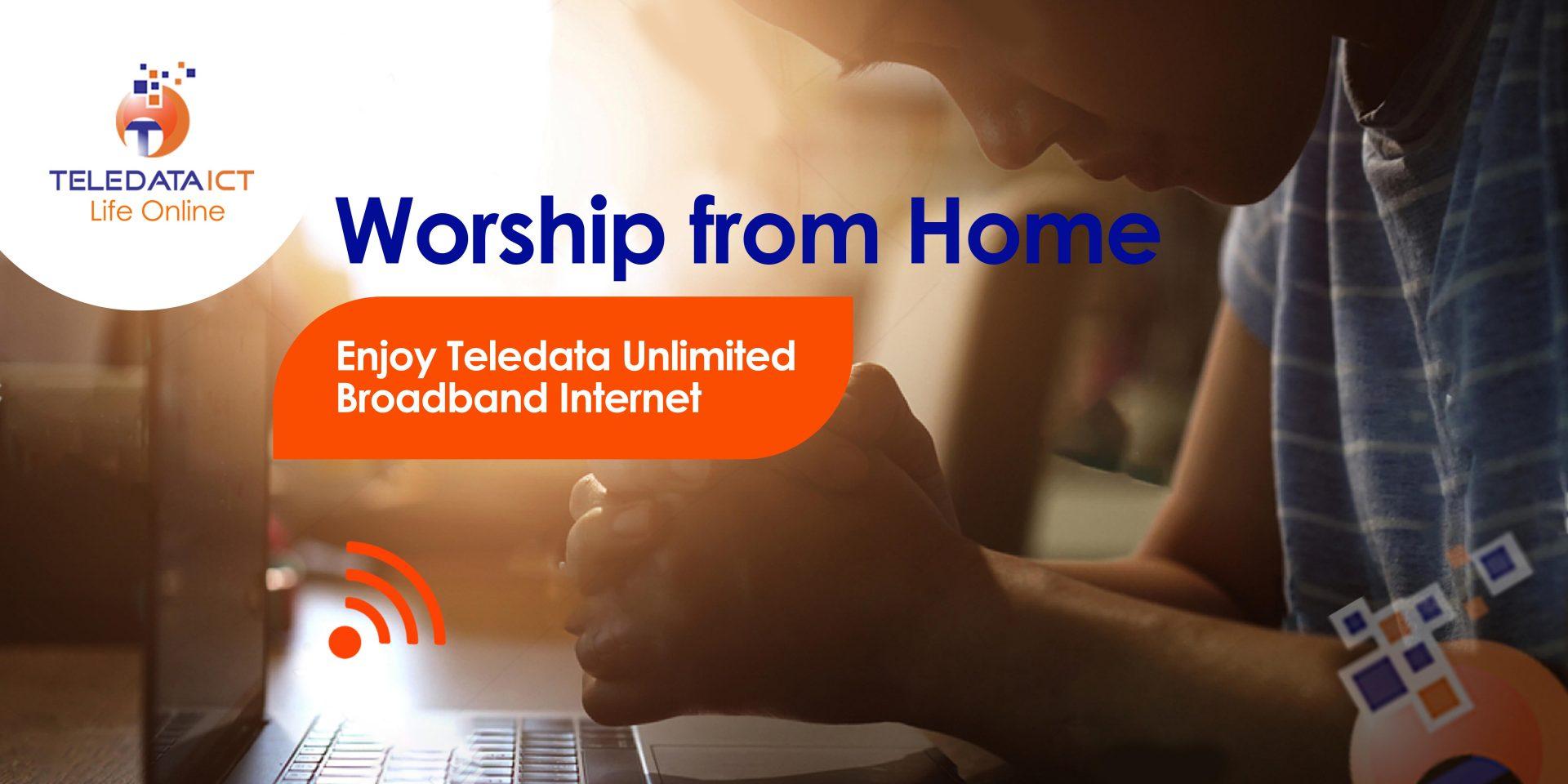 unlimited internet online worship